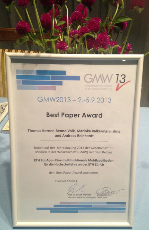 GMW13_BestPaper-Award